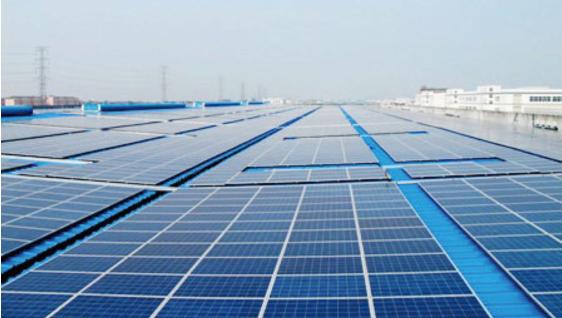波司登5MWp屋顶分布式光伏电站项目