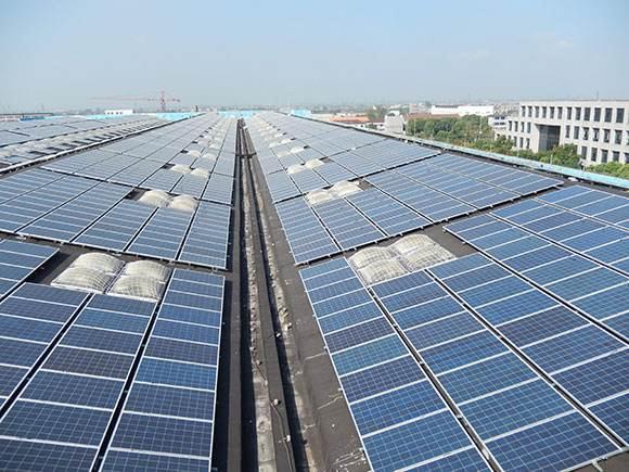 黄梅现代乳业6.6MWp屋顶分布式光伏发电项目